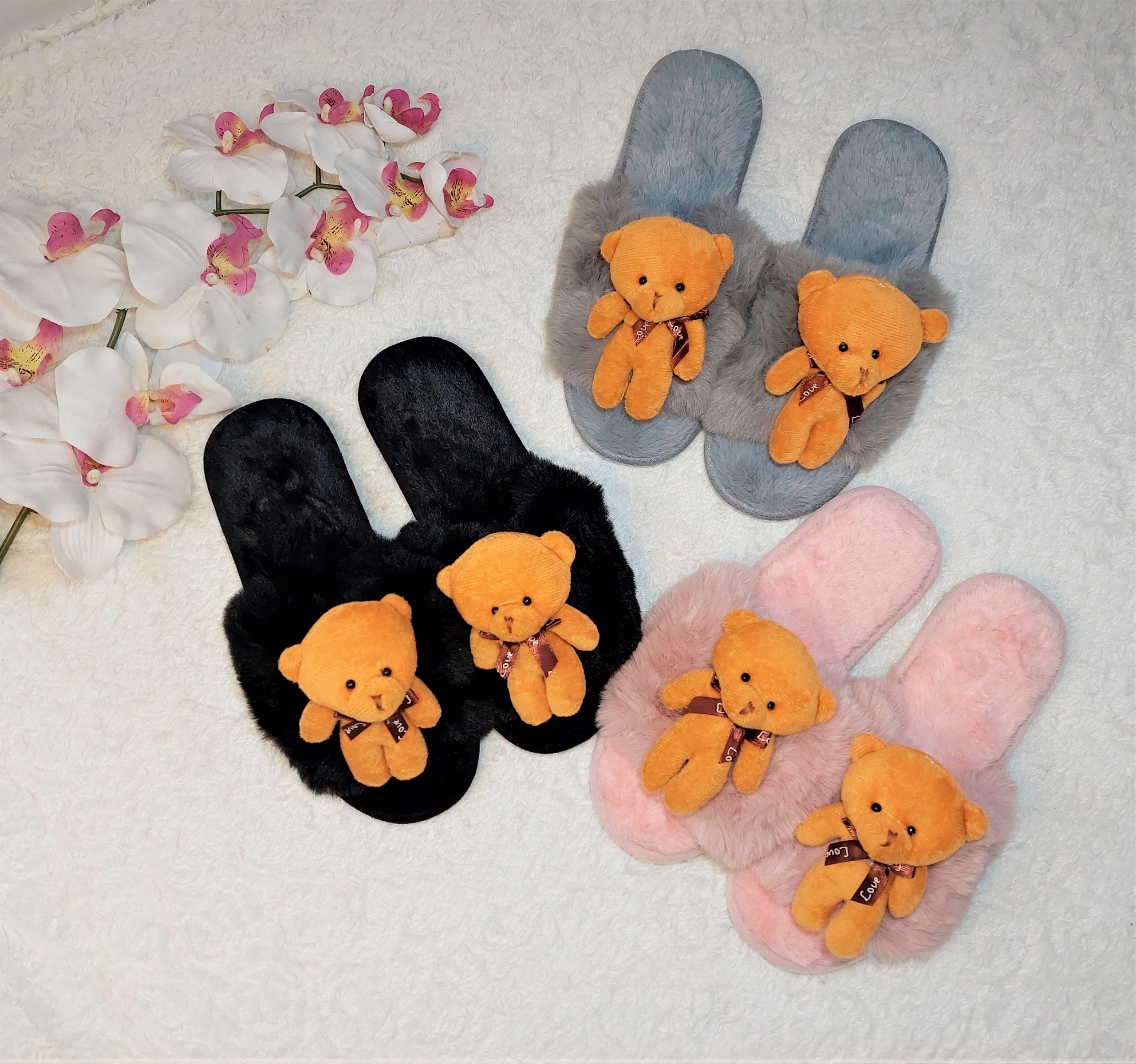 Teddy papucs